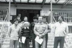 Branný kurz Podhradí nad Dyjí (Dřevotvar Znojmo) 1984
