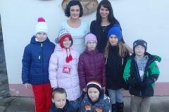 Dilny a žáci ZŠ Luhačovice 13.1. 2015