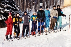 Lyžařský kurz Velké Karlovice 2003