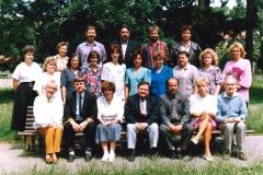 Pedagogové a zaměstnanci školy 1993