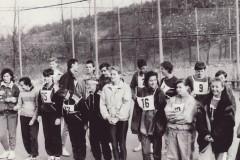 Podzimní běh žáků - hřiště Radostov Luhačovice 1990