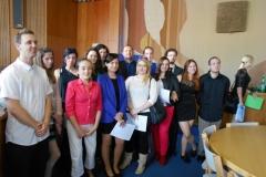 Předávání maturitních vysvědčení 4.K 2014