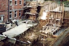 Přestavba školy 1993