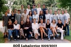 Společné foto 1.U - 2003