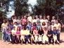 Společné foto třída IIA 1989