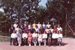Společné foto třída I.A 1989
