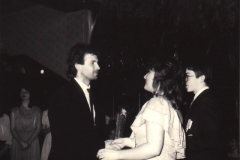 Stužkovací večírek 1990