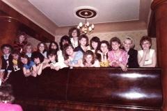 Stužkovací večírek 4.A+4.B 1990