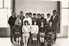 Zaměstnanci školy 1987