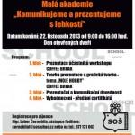 Pozvánka k akci školy