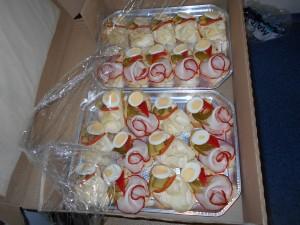 Občerstvení připravené minipodniky