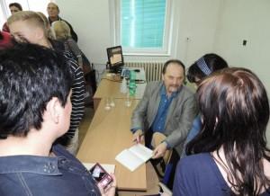 Autogramiáda Jiřího Žáčka