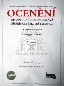 Diplom Hefaiston 2015 Kretek